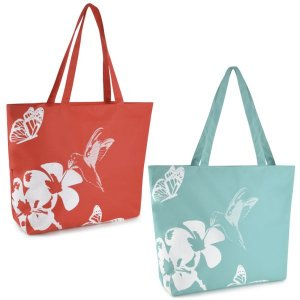 600D HUMMINGBIRD PRINTED BAG