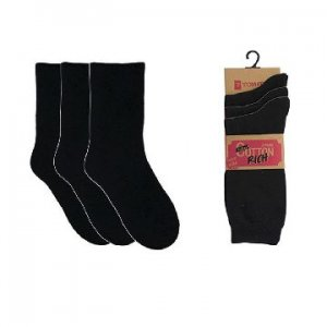 LADIES 3 PACK BLACK
