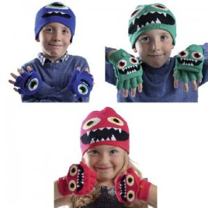 KIDS MONSTER HAT & M