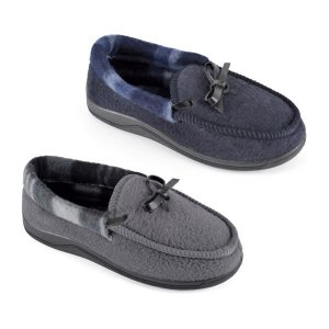 BOYS MOCCASIN WITH L