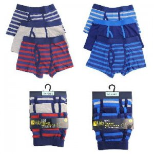 BOYS 3 PACK TRUNKS