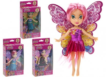 "6"" FAIRY DOLL WITH W"