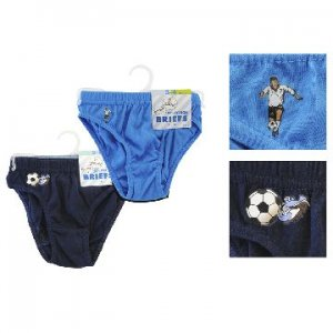 BOYS 2 PACK BRIEFS