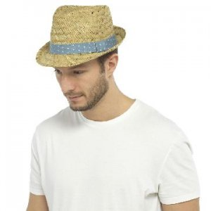 MENS TRILBY HAT WITH