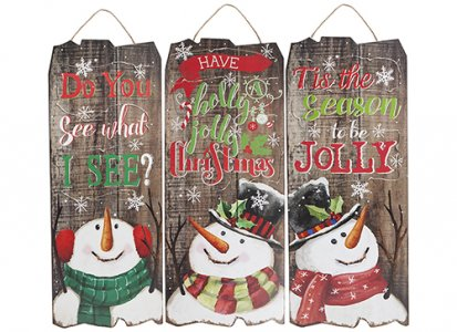 50CM HANGING PLAQUES WITH LIGHTS