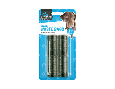 Black Dog Poo Bags -