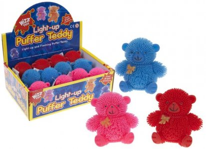 CUTE PUFFER TEDDY WITH LIGHT
