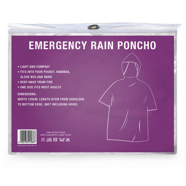 ADULT PONCHO IN CDU