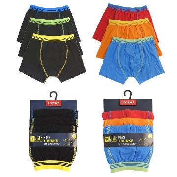 BOYS 3 PACK TRUNKS - Click Image to Close